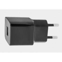 Ładowarka sieciowa plus kabel mikro USB czarna 1A 1xUSB Maxlife
