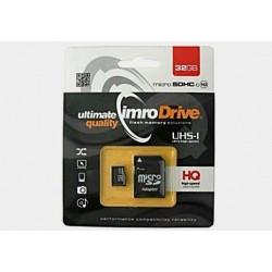 Karta pamięci mikroSD(HC) IMRO 32GB (class 10) z adapterem