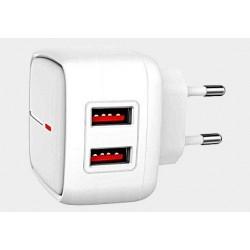 Zasilacz 5V/2,4A 2*USB L61