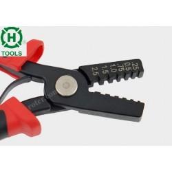 Zaciskacz HT-A261 zakończeń przewodów 0.25/0.5/0.75/1.0/1.5/2.5mm2 Hanlong