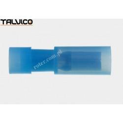 Konektor rurkowy niebieski Ż poliamidowy