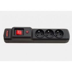 Urządzenie zabezp. M3 1,5m czarne