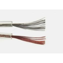 Przewód głośnikowy CCA, transparent, 2*0,50 (szpula)
