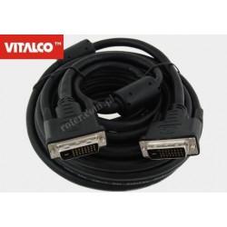 Przyłącze DVI (24+1) 7,5m DSKDV03N Vitalco