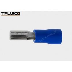 Konektor izolowany 2,8 x 0,5 żeński niebieski