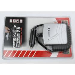 Przetwornica 12V DC / 230V AC / 75W z gniazdem USB