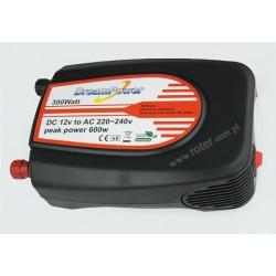 Przetwornica 12V DC / 230V AC / 300W z gniazdem USB