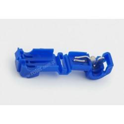 Szybkozłącze samochodowe typ T niebieskie 0,75-1,5mm