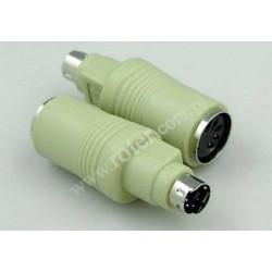 Adapter wtyk PS2 / gniazdo DIN 5p