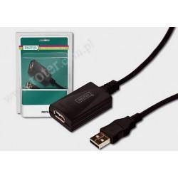 Przyłącze USB 2.0 repeater 5m