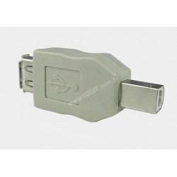 Adapter gniazdo USB A / wtyk USB B