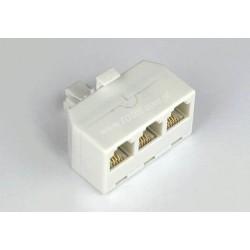 Adapter 4C wt.mod./3*gn.mod. biały