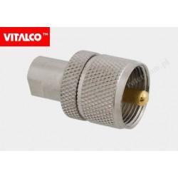 Adapter wt.FME/wt.UHF EF22 Vitalco