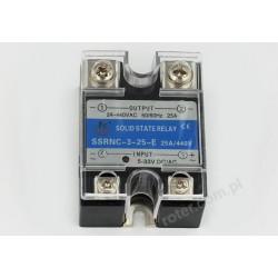 Przekaźnik półprzewodnikowy 25A SSRNC-3-25-E