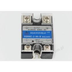 Przekaźnik półprzewodnikowy 80A SSRNC-2-80-B