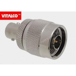 Adapter wtyk N / gniazdo BNC Vitalco EN30