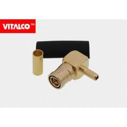 Wtyk SMB kątowy zaciskany RG174 Vitalco ESMB10
