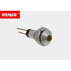 Kontrolka LED L-922S LK36 pomarańczowa Vitalco