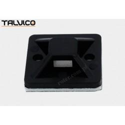 Uchwyt opaski plastik czarny 30mm*30mm