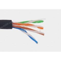 Przewód skrętka drut UTP kat.5e żel 100m Talvico LG-320