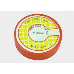 Taśma izolacyjna PVC 18.3m czerwona