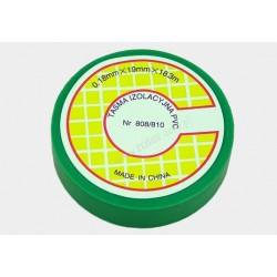 Taśma izolacyjna PVC 18.3m zielona