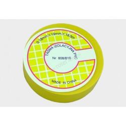 Taśma izolacyjna PVC 18.3m żółta