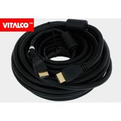 Przyłącze HDMI V1.4 czarne.10m HDK48 Vitalco