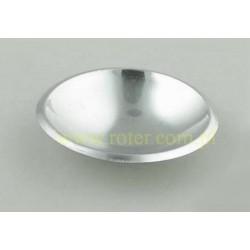 Kopułka srebrna, 3cm