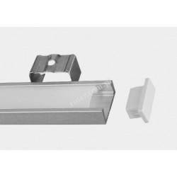 Profil LED TC-A15/06/1m / klosz, 2 x uchwyt, 2 x zaślepka