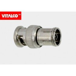Adapter gniazdo TV/wtyk BNC Vitalco