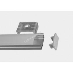 Profil LED TC-LP17/08/1m / klosz, 2 x uchwyt, 2 x zaślepka