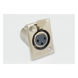 Gn. mikrof. 3p mont. metal 2,5x3,5cm RoHS