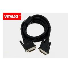 Przyłącze DVI (24+5) 1,8m DSKDV06 Vitalco
