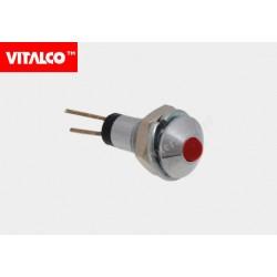Kontrolka LED L-922S czerwona Vitalco